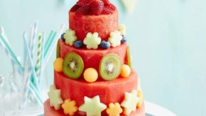 A picture of a Watermelon Cake
