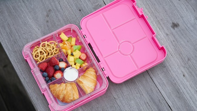 A picture of a Stuck On You Bento with food