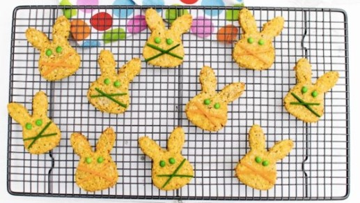 A picture of Easter bunny biscuits