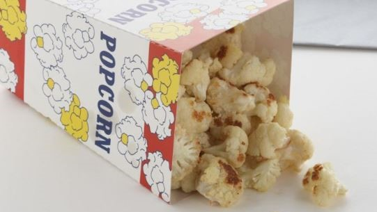 A picture of cauliflower popcorn
