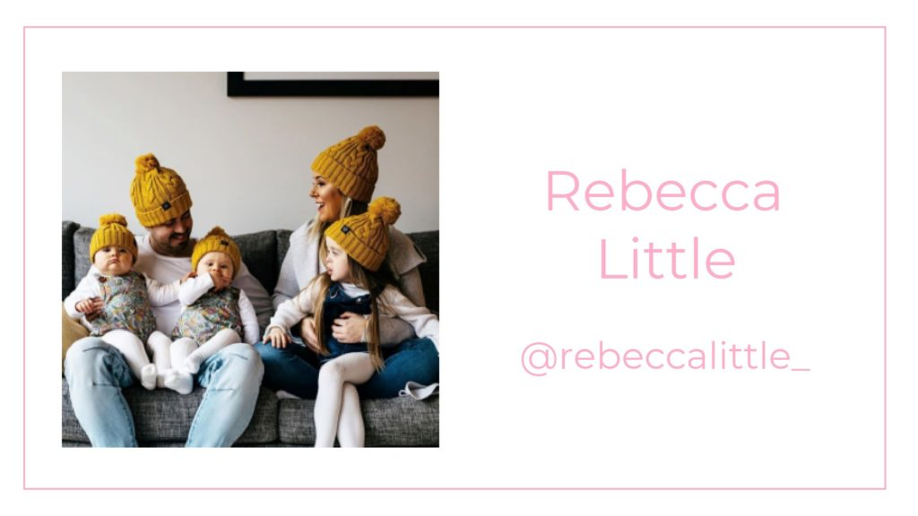 A picture of Rebecca Little and her family
