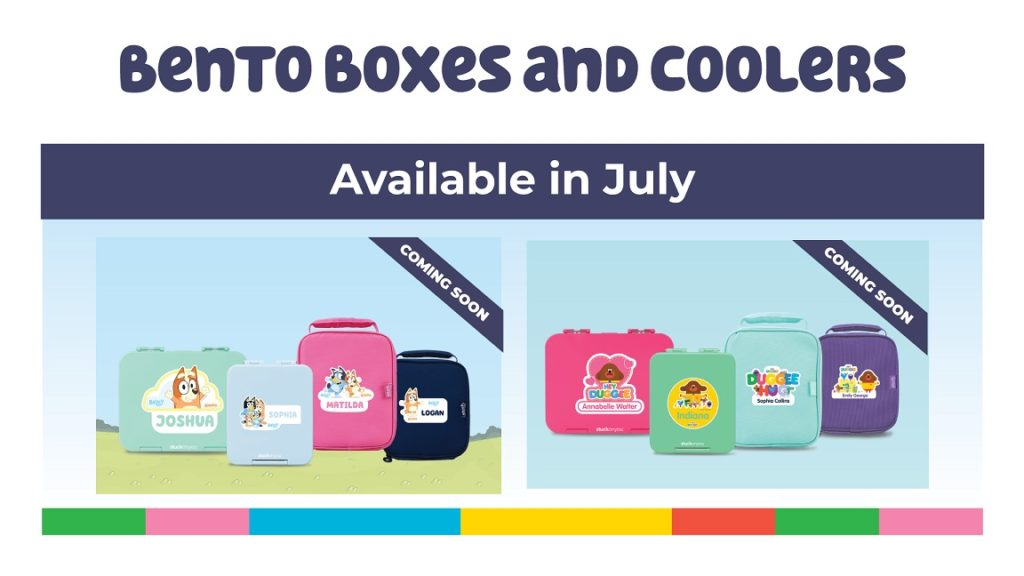 A picture of the BBC characters Bentos and Cooler Bags