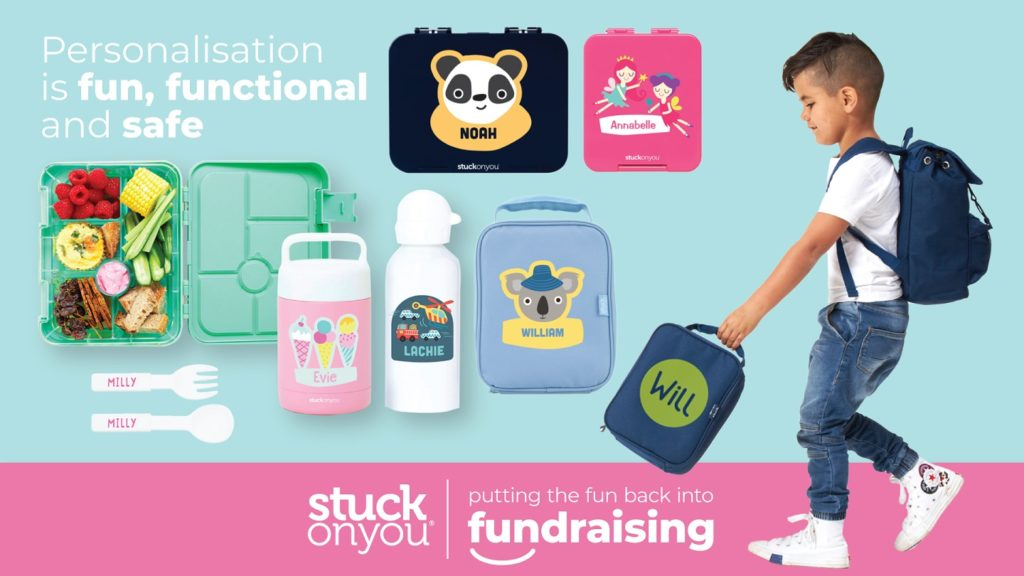 A picture of products for a Stuck On You fundraiser