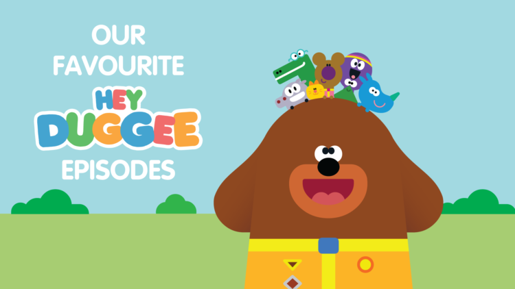 A picture of favourite Hey Duggee episodes