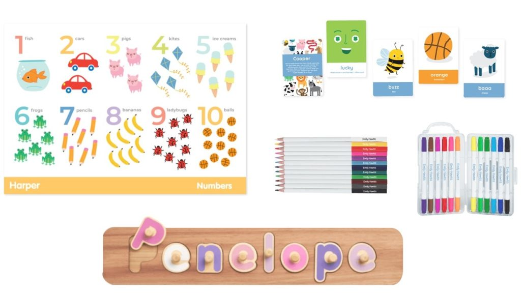 A picture of the Stationery range
