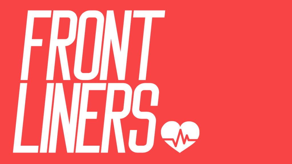 A picture of the Frontliners logo