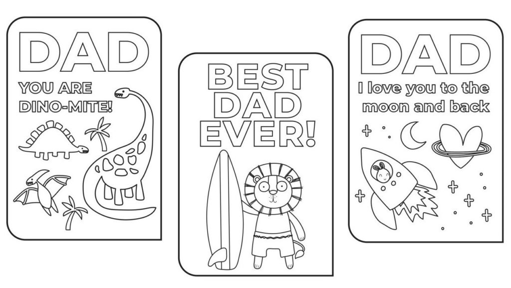 A picture of SOY Father's Day cards