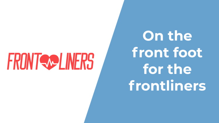 Frontliners: helping those who help us all