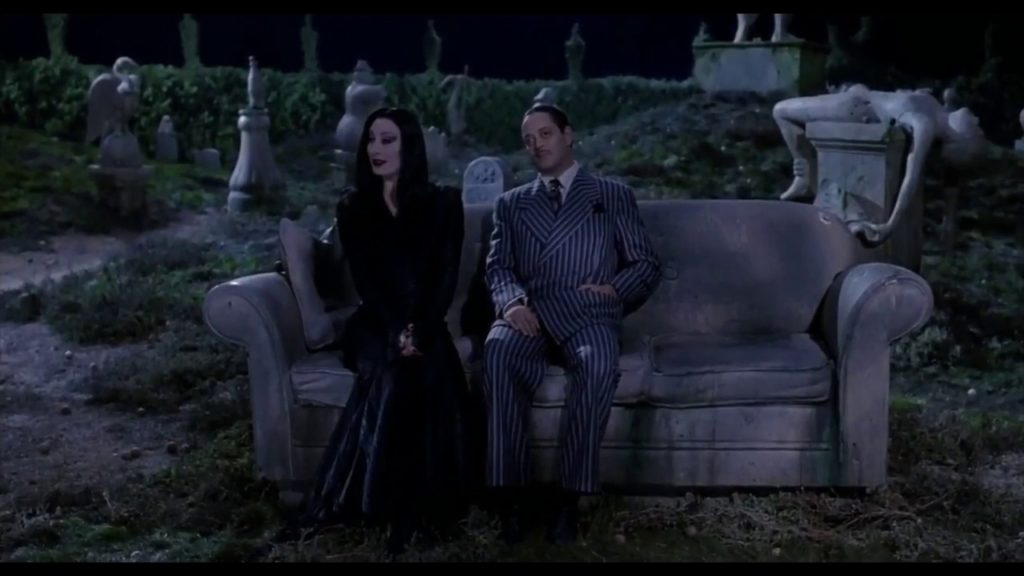 A picture from the film The Addams Family
