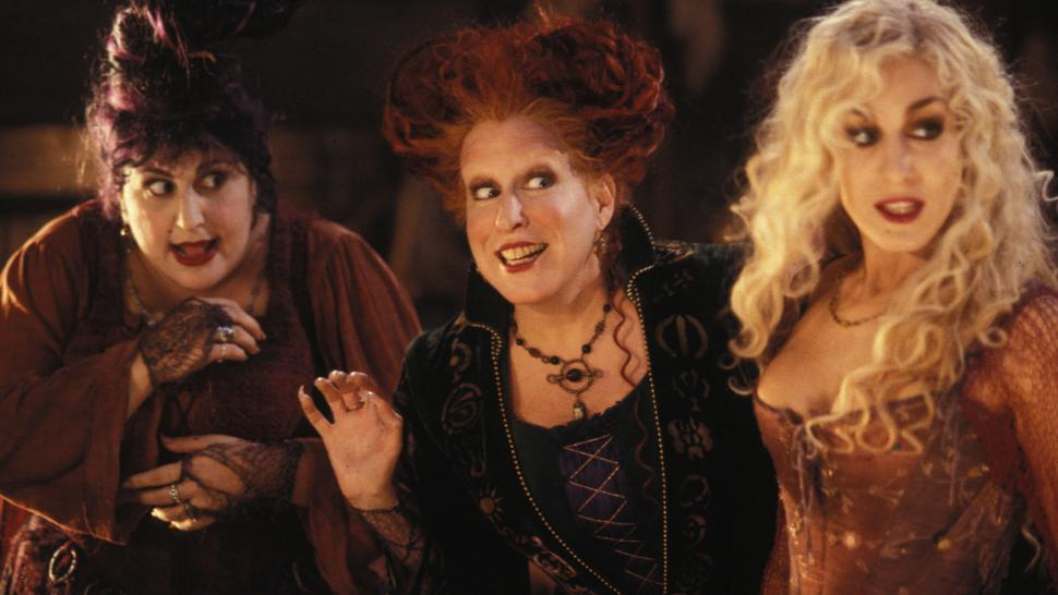 A picture from the film Hocus Pocus