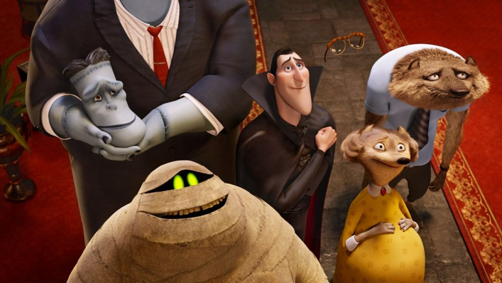 A picture from the film Hotel Transylvania