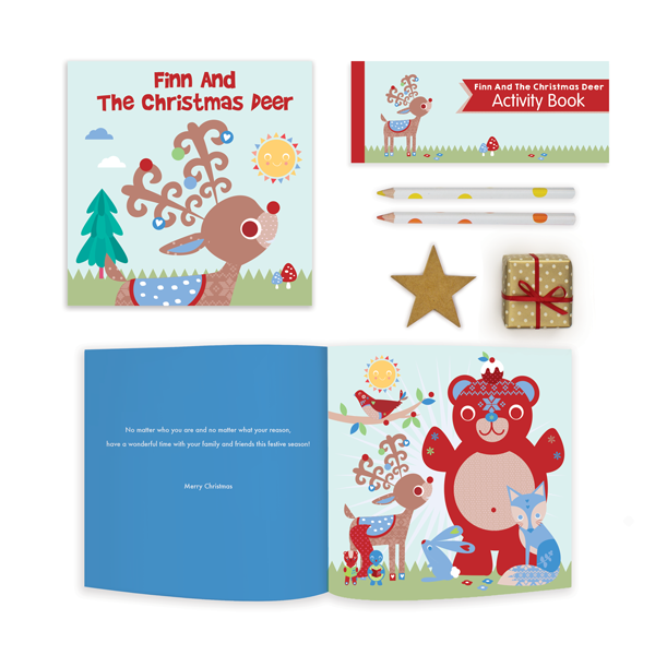 Your child will love our adorable Christmas stories! Personalised with their name throughout, and peppered with fun and educational activities, our Christmas storybooks are a sure fire way to get them excited for the festive season.