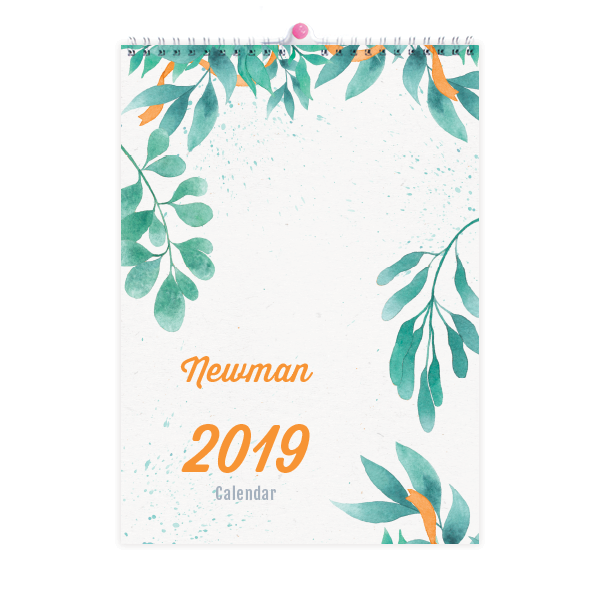 A Family Calendar is a great gift idea and makes it easy to keep up with important dates! Our A3 sized 2019 Family Calendars come in a range of original designs and come ready to hang. Get one today!